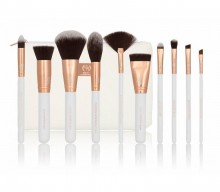Set pensule Boozy Cosmetics Rosé Gold BoozyBrush 10 pc Sculpt & Blend Vol. 2.
