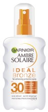 Spray protector intensificator de bronz SPF 30 Ambre Solaire Ideal Bronze 200 ml