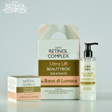 Beauty Box Hidratanta cu Extract de Melc Ultra Lift Retinol Complex - Crema de fata 50 ml si Lapte de Curatare 200 ml