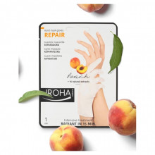 Crema de maini Iroha Hand Mask Gloves Repair Peach