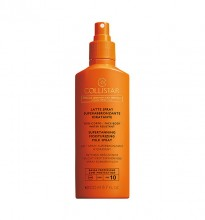 Crema de protectie solara Collistar Supertanning Moisturizing Milk Spray SPF10  200ml