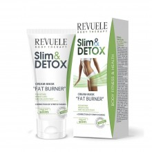 Crema masca  Revuele Fat Burner Slim&Detox Cream Mask 200 ml