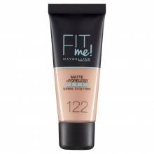 Fond de ten matifiant Maybelline New York Fit Me Matte & Poreless 122 Creamy Beige - 30ml