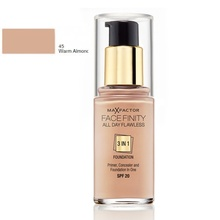 Fond de ten Max Factor All Day Flawless 3 in 1 45 Warm Almond