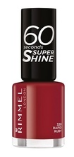 Lac de unghii Rimmel 60 Seconds Shine, 320 Rapid Ruby