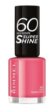 Lac de unghii Rimmel 60 Seconds Shine, 407 Hot Tropicana