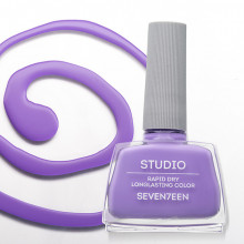 Lac de unghii Seventeen STUDIO RAPID DRY LASTING COLOR No 82 Light Purple