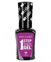 Lac de unghii Wet n Wild 1 Step Wonder Gel Nail Color Bye Feluschia!, 7 ml