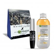 Pachet promo Garnier Skin Naturals Apa micelara + Maybelline Mascara The Classic Volume Express