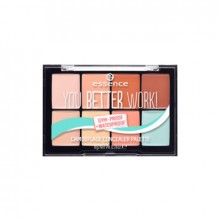 Paleta corectoare Essence YOU BETTER WORK! CAMOUFLAGE CONCEALER PALETTE