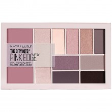 Paleta multifunctionala pentru ochi si pometi Maybelline New York City Kits Pink Edge - 12g