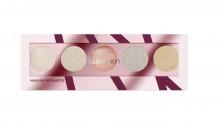 Paleta pentru iluminarea fetei L'Oreal Paris Merry Metals Glow Kit 5g