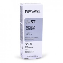 Revox Just glycolic acid 20% toning solution 30ml