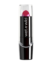Ruj Wet n Wild Silk Finish Lipstick Fuchsia with Blue Pearl, 3.6 g