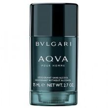 Deodorant Stick fara alcool BVLGARI Aqva pour Homme, 75 g