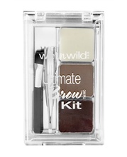 Fard de sprancene Wet n Wild Ultimate Brow Kit Ash Brown, 2.5 g