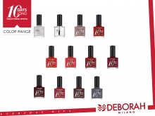 Lac de unghii Deborah 10 Days Long Nail Enamel 39 Geranium Red