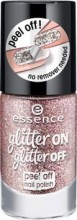 Lac de unghii Essence glitter on glitter off peel off nail polish 02