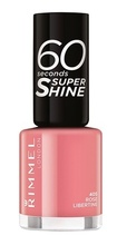 Lac de unghii Rimmel 60 Seconds Shine, 405 Rose Libertine