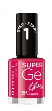 Lac de unghii Rimmel Super Gel , 024 Red Ginger