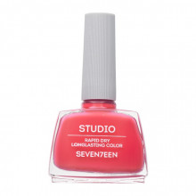 Lac de unghii Seventeen STUDIO RAPID DRY LASTING COLOR No 128