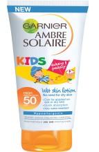 Lapte protector Wet Lotion Garnier Ambre Solaire SPF 50 - 200 ml