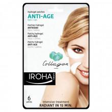 Masca pentru ochi si buze Iroha Hydrogel Patches Anti-Age Eyes/Lips Collagen