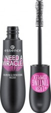 Mascara Essence I need a miracle! volumizing & strengthening mascara 01