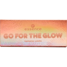 Paleta iluminatoare Essence Go For The Glow Highlighter Pallette 02 The Warms
