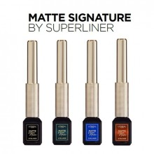 Tus lichid waterproof L'Oreal Paris Matte Signature by SuperLine 02 Blue 6 ml