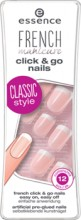 Unghii false Essence french click 'n go nails -