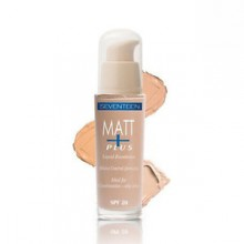 Fond de ten Seventeen Matt Plus Liquid Foundation No 1
