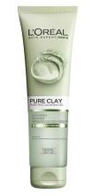 Gel de curatare matifiant pentru fata L'Oreal Paris Pure Clay 150 ml