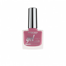 Lac de unghii Deborah Gel Effect Nail Polish Ultra Glossy 124 Mauve Jelly