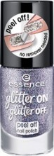Lac de unghii Essence glitter on glitter off peel off nail polish 05