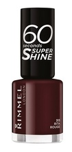 Lac de unghii Rimmel 60 Seconds Shine, 313 Rita Rouge