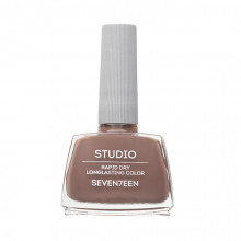 Lac de unghii Seventeen STUDIO RAPID DRY LASTING COLOR No 76 Grey Brown