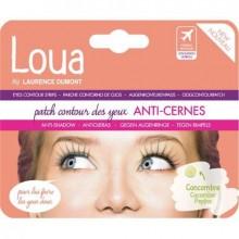 Masca pentru cu efect anti-cercane ochi Loua Patch Eyes Contour Strips Anti-Shadow 5 ml