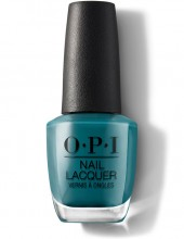 OPI Nail Lacquer - GREASE Teal Me More, Teal Me More 15ml
