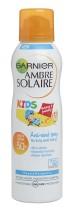 Spray cu protectie solara pentru copii Garnier Ambre Solaire cu formula Anti-Sand SPF 50 - 200ml
