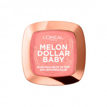 Fard de obraz L'Oreal Paris Wake Up & Glow, 03 Melon Dollar Baby, 9g