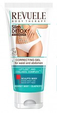 Gel pentru slabire Revuele Corrective Gel for Waist and Belly with Caffeine