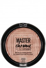 Iluminator cu reflexii metalice Maybelline New York Master Chrome 050 Molten Rose Gold - 9g