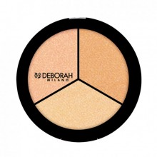 Iluminator Deborah Secrets of Strobing Trio Highlighter Palette