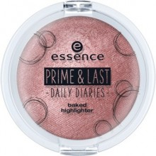 Iluminator Essence prime & last -daily diaries- baked highlighter 01