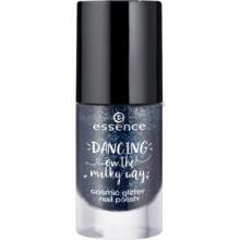 Lac de unghii Essence dancing on the milky way cosmic glitter nail polish 01