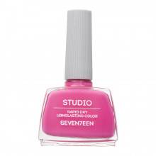 Lac de unghii Seventeen STUDIO RAPID DRY LASTING COLOR No 124