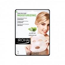 Masca servetel hranitoare Iroha Tissue Face Mask Moisturizing Aloe+Hyaluronic acid