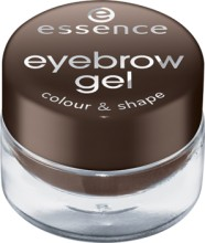 Mascara gel pentru sprancene Essence eyebrow gel colour & shape 01 Brown