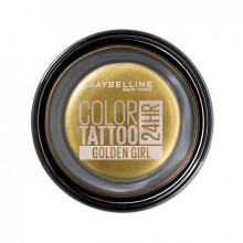 Maybelline New York Fard de pleoape rezistent la apa Color Tattoo 24H 200 Golden Girl 4g